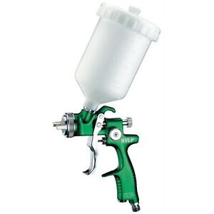 Europro Forged Hvlp Spray Gun With 1 5 Nozzle And Plastic Cup Asteurohv105 New