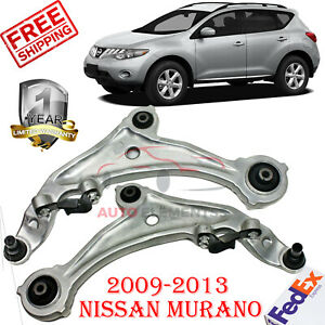 Set Of 2 Front Lower Control Arm Lh Rh W Ball Joint For 2009 13 Nissan Murano