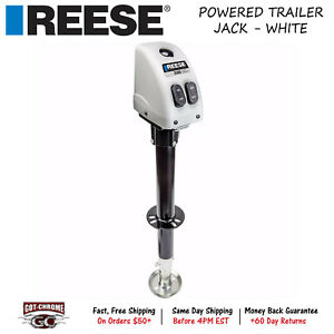 500704 Reese A Frame Powered Drive Trailer Tongue Jack With 14 Travel