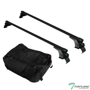 50 Blk Square Window Frame Roof Rack Cross Bar Waterproof Cargo Carrier Bag T11