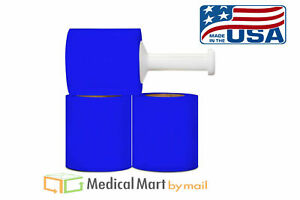 Narrow Banding Shrink Film 5 X 1000 X 80 Ga Blue Stretch Wrap 36 Rolls