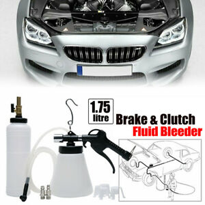 1 75 L Car Van Brake Bleeder Bleeding Fluid Rechange Tool Air Pneumatic Vacuum