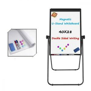 U stand Whiteboard 40x28 Inches Magnetic Double Sided Dry Erase Board