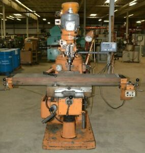 Bridgeport Series 2 Special 11 X 58 Vertical Milling Machine