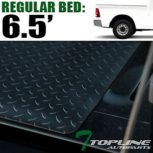 Topline For 2002 2018 Dodge Ram Rambox 6 4 Ft Rubber Truck Bed Mat Liners Blk