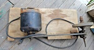 Antique Vintage Grinding Wheel 1 4 Hp Electric Motor Type Fht Frame 145