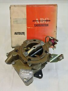 Nos Carter Yf Carburetor 4496s 1968 Ford Bronco Truck 170 Engine Manual Trans