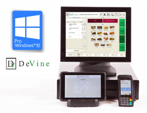 New Restaurant Point Of Sale System W Wireless Tablet And Credit Card Terminal
