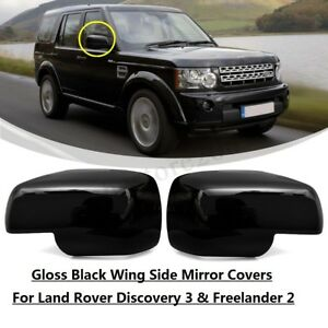 Side Mirror Covers For Land Rover Discovery 3 Freelander 2 Range Rover Sport
