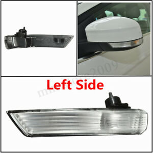 Left Wing Mirror Indicator Turn Signal Light Len Cover For Ford Focus 2008 2016