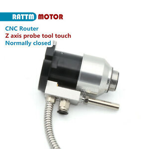 Cnc Router Probe Z Axis Auto Adjustment Tool Touch Setting High Precision Mach3