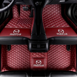 Luxury Car Floor Mats For 2003 2019 Mazda 3 Mazda 6 Mx 5 Cx 3 Cx 7 Cx 5 Cx 9