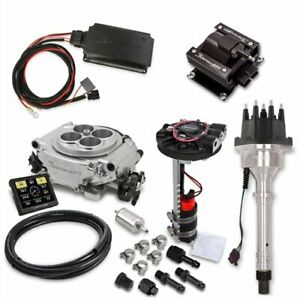 Holley 550 510dk Sniper Efi Self tuning Hyperspark Kit Small Block big Block Che