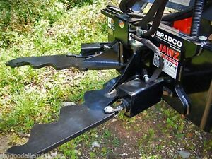 Remove Trees And Shrubs Of All Size jawz Grabbing Tool For Mini Skid Steer
