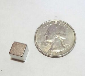 Magnets Neodymium Cubes 0 3 48pcs Only 0 70 Each