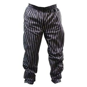 Chef Works Gsbp000m Chalk Stripe Designer Chef Pants m