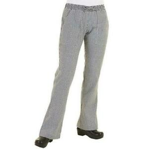 Chef Works Wbaw xs Women s Checked Chef Pants xs