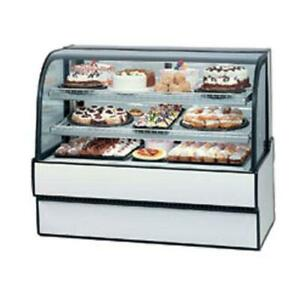 Federal Cgr3142 Curved Glass 31 X 42 Refrigerated Bakery Case