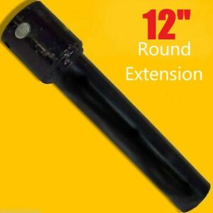 12 Skid Steer Auger Extension fits 2 5 Round Auger Bits fixed Length Mcmillen