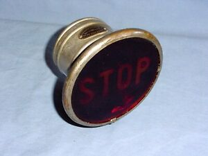 Clox lite Vintage Stop Parking Tail Light Hot Rat Rod Model A T Ford Chevy Buick