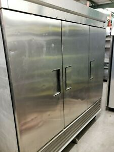 True 3 Door stainless Freezer T 72f All Racks And Clips Included warranty