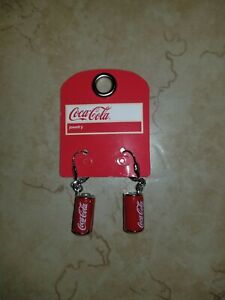 Coca Cola Can Earrings