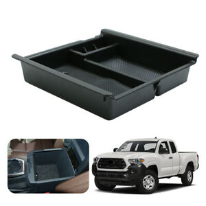 Truck Center Console Organizer Armrest Storage Tray For 16 18 Toyota Tacoma