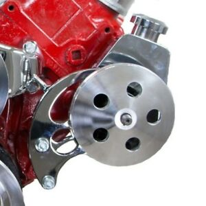 Bb Chevy Bbc Chrome Saginaw Power Steering Pump Kit W Bracket Pump