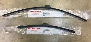 Genuine Oem Honda Cr v Front Windshield Wiper Blades 2017 2020 Crv