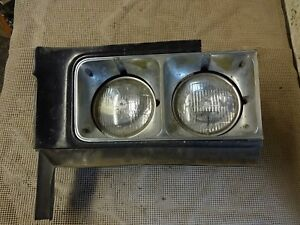 1973 1974 Buick Riviera Gs Stage 1 Lh Driver Side Headlight Bucket Bezel 5965889