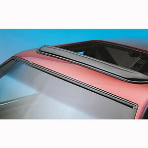 78061 Avs Smoke Pop out Windflector Sunroof Visor Fits Up To 34 5 Sunroofs