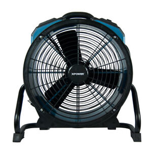 Xpower X 47atr Pro 3 600cfm Axial Air Mover dryer fan With Timer