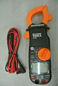 Klein Cl1000 400 Amp Ac Digital Clamp Meter W Leads d