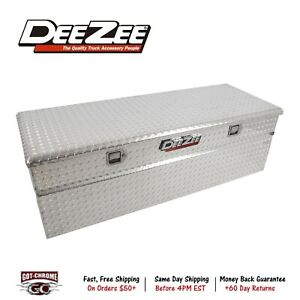 Dz8556f Dee Zee Red Label Toolbox Silver Alum Non Slanted Base 56 X 19 X 16