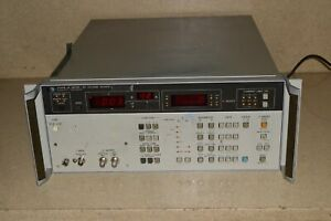 Hp Hewlett Packard Model 4140b Pa Meter Dc Voltage Source