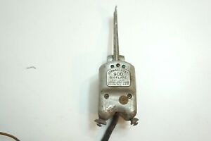Vintage 1950 s Signal stat Sigflare No 900 Turn Signal Switch With Hardware N8
