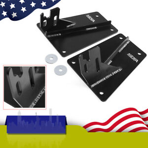 For Dodge Ram 2nd 4th Gen 1500 2500 3500 Front Bumper Conversion Brackets 2 Pcs