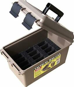 MTM Tactical Mag Can 223 5.56 Magazine Storage Outdoor Hunting Ammo Case Box NEW