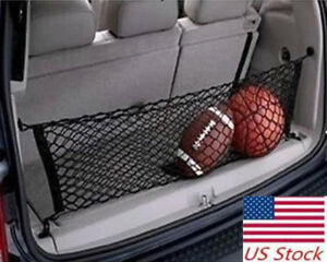 For Subaru Forester Envelope Style Trunk Cargo Net Rear Mesh Storage Organizer