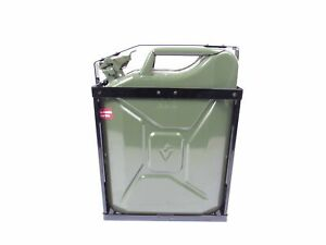 Nato Style Steel Jerry Can Holder For 5 Gallon 20 Liter Military Spec Cans