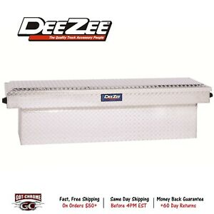 Dz9170w Dee Zee Blue Label Single Lid Crossover Silver Tool Box Contractor Grade