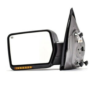 Left Side Led Signal For 2004 2006 Ford F 150 Power Heated Side View Mirror