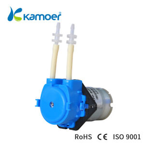 Kamoer Nkp dc s10b Mini Peristaltic Dosing Pump 12v Dc Motor 6 in packet
