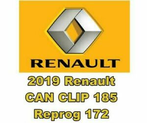 2019 Renault Can Clip 185 Reprog 172 Software Fast Download