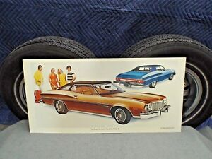 Dealership Promo Poster 1975 Ford Gran Torino Brougham Sign starsky And Hutch 75