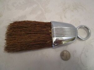 Art Deco Chase Chrome Crumb Brush 1920 S Antique Machine Age 8 Long