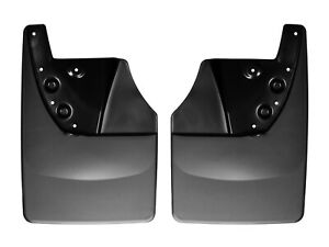 Weathertech No Drill Mudflaps For Toyota Tundra 2014 2019 Rear Pair