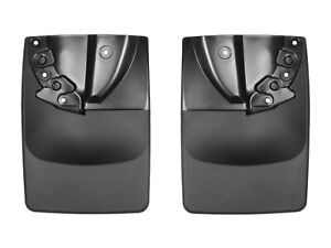 Weathertech No drill Mudflaps For Toyota Tacoma 2016 2018 Rear Set