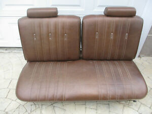 Front Split Bench Seat Manual Ford Thunderbird 77 78 79