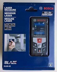Bosch Glm 42 Laser Measure Full color Display Glm42
